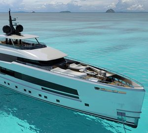 New striking 48m motor yacht YARA 48 concept unveiled by ISA Yachts