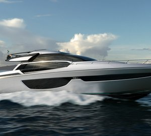 Brand new motor yacht RIVA 76' coupé project