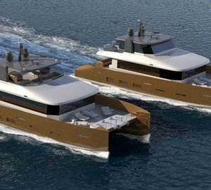 Original design of Kingship motor yacht KingCAT 85 refined by ER Yacht Design
