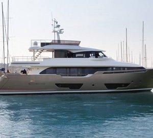 Custom Line Navetta 28 motor yacht YVONNE launched
