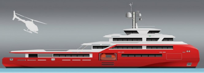 Super yacht MSS EXPEDITION65 design