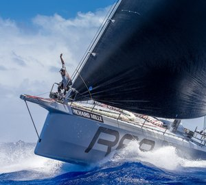 Start of Les Voiles de St. Barth 2015