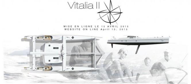 Superyacht Vitalia II - New Website