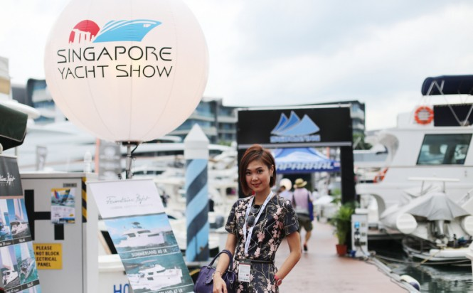 The best ever Singapore Yacht Show 2015 - Photo credit to BlueiProd