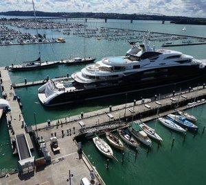 Busiest summer season ever for Auckland's Silo superyacht marina