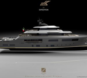 New 50m Explorer Motor Yacht TESEO designed by Zuccon International Project for CRN Shipyard