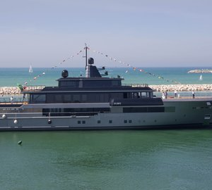 Brand new 55m Motor Yacht ATLANTE launched by CRN Yachts