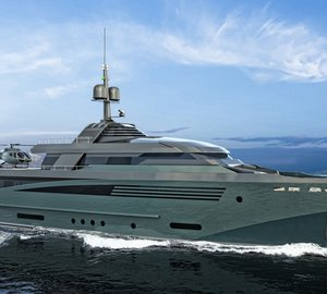 Eye-catching 56m Expedition Yacht QUEEQUEG concept by Federico Fiorentino