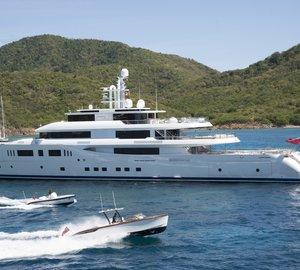 Two Neptune Trophies for Perini Navi Mega Yacht GRACE E at World Superyacht Awards 2015