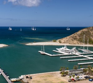 60% Increase in Private and Charter Yachts visiting St Kitts and Nevis