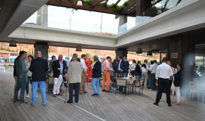 Cocktail Party at Port Adriano Superyacht Marina