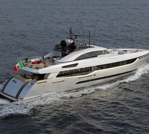 Eagerly awaited launch of 97 Metres of Columbus Superyachts to take place on May 16, 2015