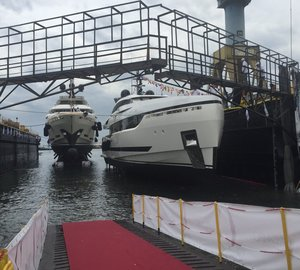 Launch of two all-new Columbus Superyachts