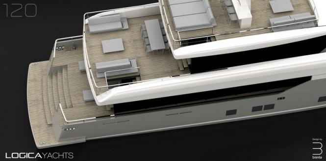 LOGICA 120 superyacht - Decks