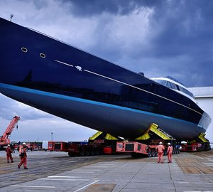 Launch of impressive 85m Sailing Superyacht AQUIJO (Project 85) announced by Oceanco and Vitters