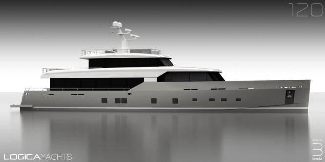 Luxury motor yacht LOGICA 120 by LOGICA Yachts