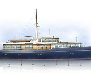 Ultimate Modern Classic Motor Yacht Spirit Royale 110' concept by Rhoades Young and Spirit Yachts
