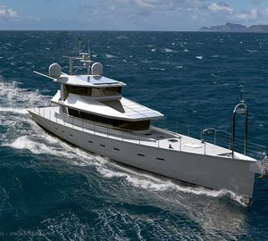 New Dashew Go-Anywhere Motor Yacht FPB 130