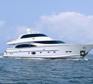 New Customized Horizon E88 Skylounge Superyacht Launched