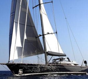 Regatta Debut for 60m Perini Navi Mega Yacht Perseus^3 at Superyacht Cup Palma 2015