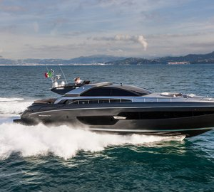 World Premiere of New RIVA 88' DOMINO SUPER Yacht in Monaco