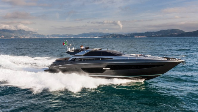 RIVA Superyacht Domino Super underway