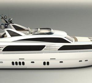 New Continental III 25.00 RPH Motor Yacht JANGADA splashes at Wim van der Valk