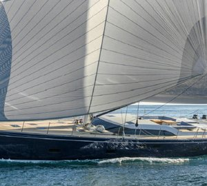 World Superyacht Award 2015 for Superb Southern Wind SW102 Sailing Yacht FARFALLA