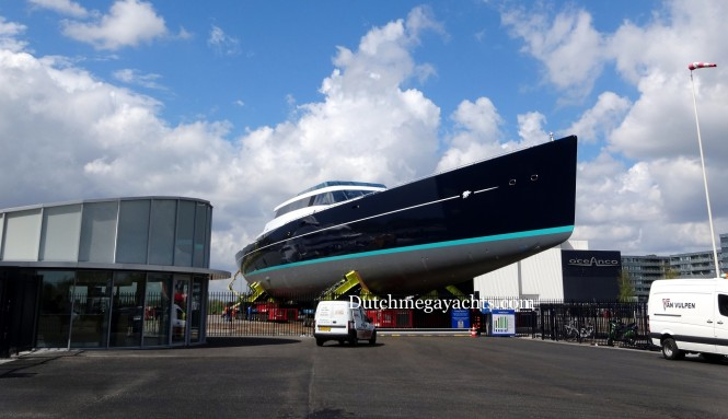Superyacht Project 85 to be launched soon - Photo by Dutchmegayachts