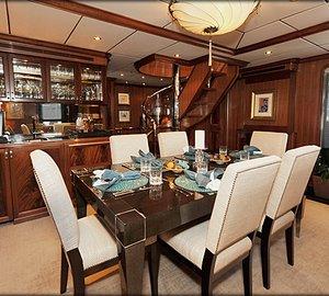 Destry Darr Designs complete refit of Charter Yacht VIVIERAE