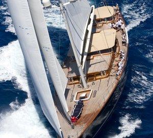 World Superyacht Award 2015 for MCM's Sailing Yacht WISP