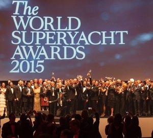 Winners of the prestigious World Superyacht Awards 2015