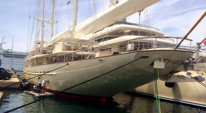 Zytexx working on the 90m superyacht ATHENA