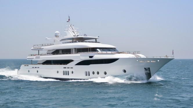 Majesty 155 Yacht by Gulf Craft - Profile