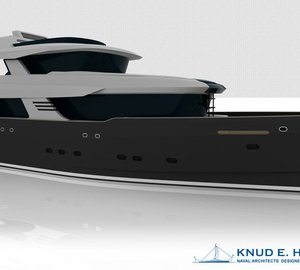 Two 26m Knud E. Hansen-designed Explorer Motor Yachts In Build at Holland Jachtbouw