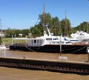 Restoration for Iconic 28m Classic Motor Yacht METEJON