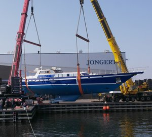 Refit of Iconic Jongert 32DS Sailing Yacht TAMER II completed