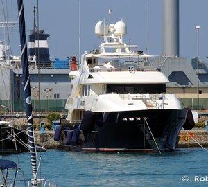 Beautiful 42m Trinity Motor Yacht WAKU in Italy