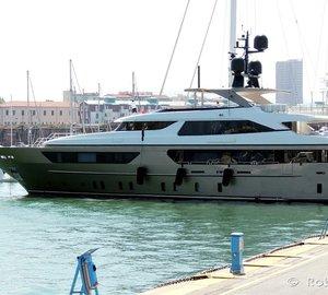 Gorgeous 46m Sanlorenzo Motor Yacht ACHILLES in Livorno, Italy