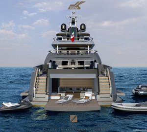 First interior renderings of striking 50m Explorer Yacht TESEO concept by Zuccon International Project