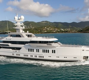 Eye-catching 66m Mega Yacht ESTER III by LURSSEN