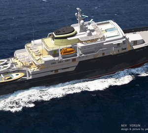 All-new 77m Explorer Motor Yacht YERSIN designed by Pierre J. KUBIS Designs