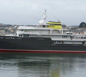 Delivery of Impressive 77m Explorer Mega Yacht YERSIN