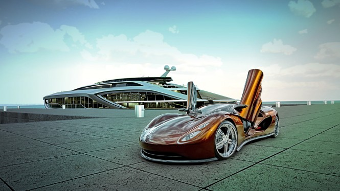 A New Strategic Partnership of Hypercars and Super Yachts Unveiled by Gray Design — Yacht ...