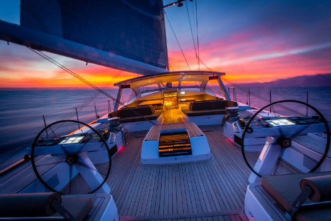Aboard DORYAN Yacht