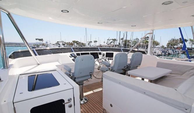 Aboard motor yacht SWEET HOPE 2