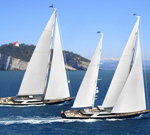 Sale of New Perini Navi 60m Series Sailing Yacht Hull #3