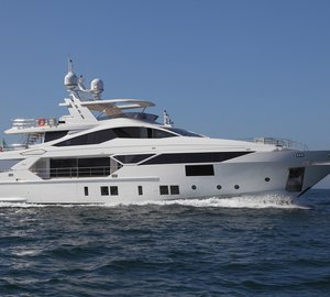 World Premiere of New BENETTI Motor Yacht VIVACE 125' at Cannes Yachting Festival