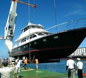 Brand New Motor Yacht Hunt 80 Launched