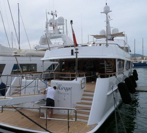STP Shipyard Palma completes refit of Luxury Charter Yacht MIRAGE